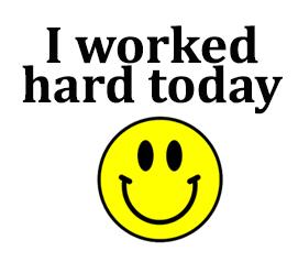 worked hard